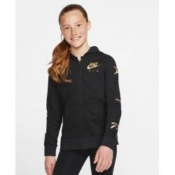 Nike Air Girls Full-Zip Fleece Hoodie