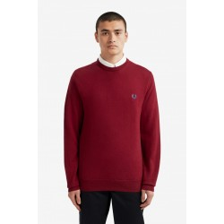 Fred Perry Merino Wool Crew Neck Jumper