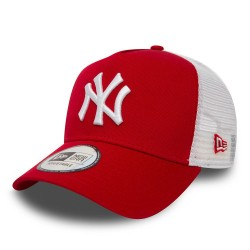 New Era Cap Clean Trucker 2 Ney- Red