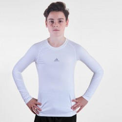 Adidas Football Shirt AlphaSkin Longsleeve Junior
