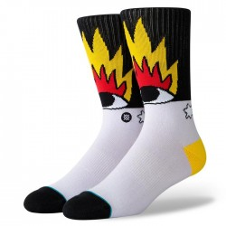 Stance Socks Fire And Eyes