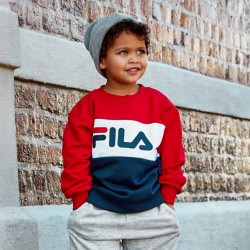 Fila Night Blocked Crew Sweat Kids