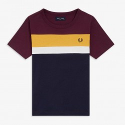 Fred Perry Colour Block T-shirt Kids