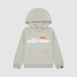 Ellesse Jero Hoodie Top -Grey Marl - Junior