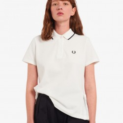 Fred Perry Pleated Back Polo Shirt