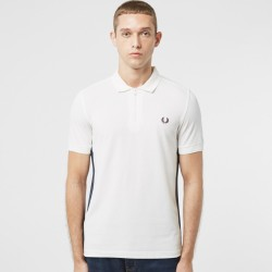 Fred Perry Taped Zip Neck Polo Shirt