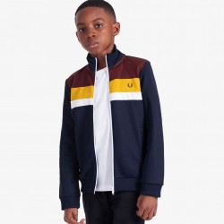 Fred Perry Colour Block Track Jacket Kids