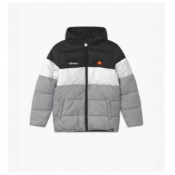 Ellesse Muscia Quilted Jacket - Black/Grey Marl - Infant