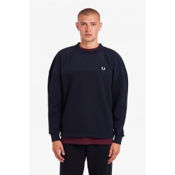 Fred Perry Woven Panel T-shirt