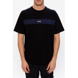 Fila Men Word Dropped Shoulder Tee