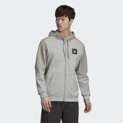 Adidas Must Haves Full-Zip Stadium Hoodie
