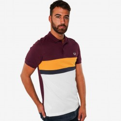 Fred Perry Colourblock Polo Shirt