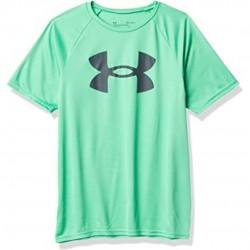 Under Armour Boys' Tech™ Big Logo Short Sleeve