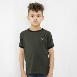 Fred Perry Kids Taped Ringer T-shirt