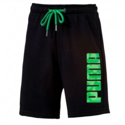 SPORTS SWEAT SHORTS COTTON BLACK