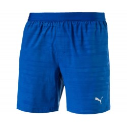 "PACE 7 "" GRAPHIC SHORT TRUE BLUE- EMBOSSED"