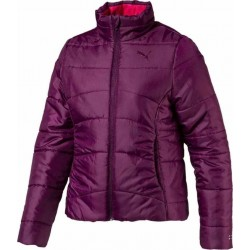 ESS PADDED JACKET G Dark Purple